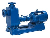 single stage pump, self-priming pump